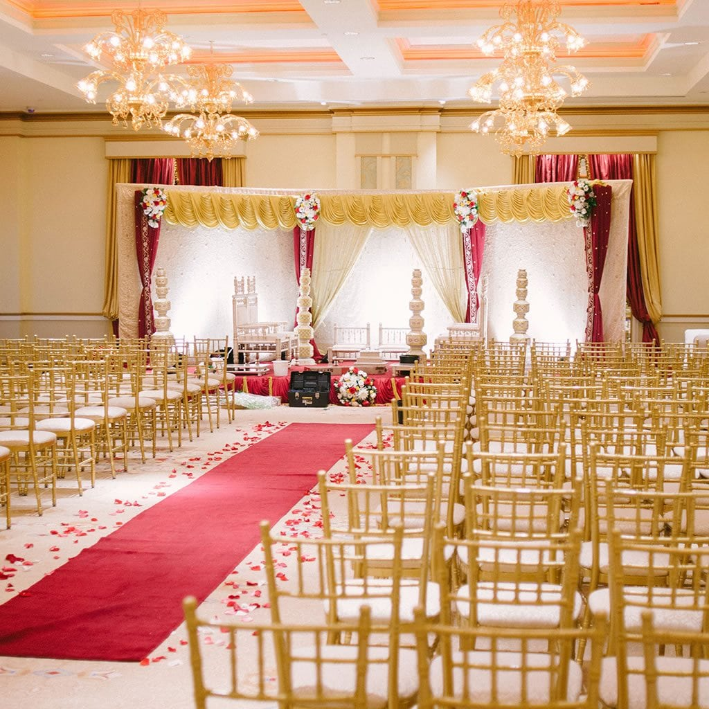 Ceremony Room, New Jersey Indian Wedding Venue - The Grove NJ