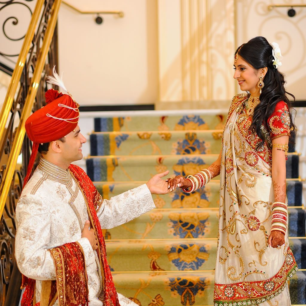 Staircase, New Jersey Indian Wedding Venue - The Grove NJ