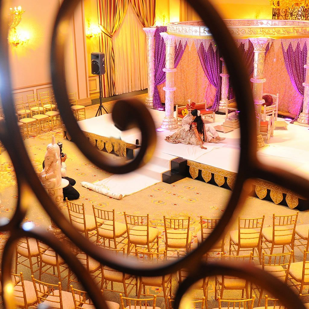 Artistic Shot, New Jersey Indian Wedding Venue - The Grove NJ